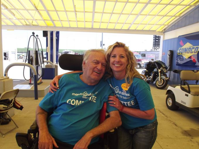 Don Post and Debbie